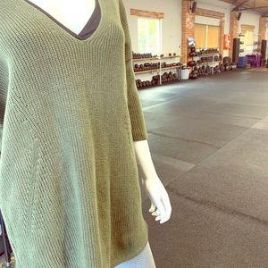 Express Moss Green Sweater
